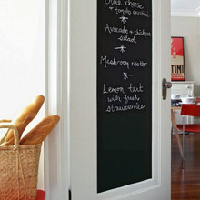 Chalk Board Wall Sticker Blackboard Decal Vinyl Chalkboard Removable Wall Sticker Home Deco Great Gift for Kids Room YL871243(China)