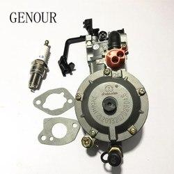 NEW design JIWANNIAN LPG&CNG CARBURETOR THREE WAY CONVERSION KIT FOR 2-2.5KW GENERATOR  PETROL & LIQUEFIELD,Dual Fuel Carburetor