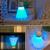 1 pcs 2017 nova chegada badminton forma novelty luz conduzida da noite quarto lâmpada decoração da lâmpada de luz usb recarregável