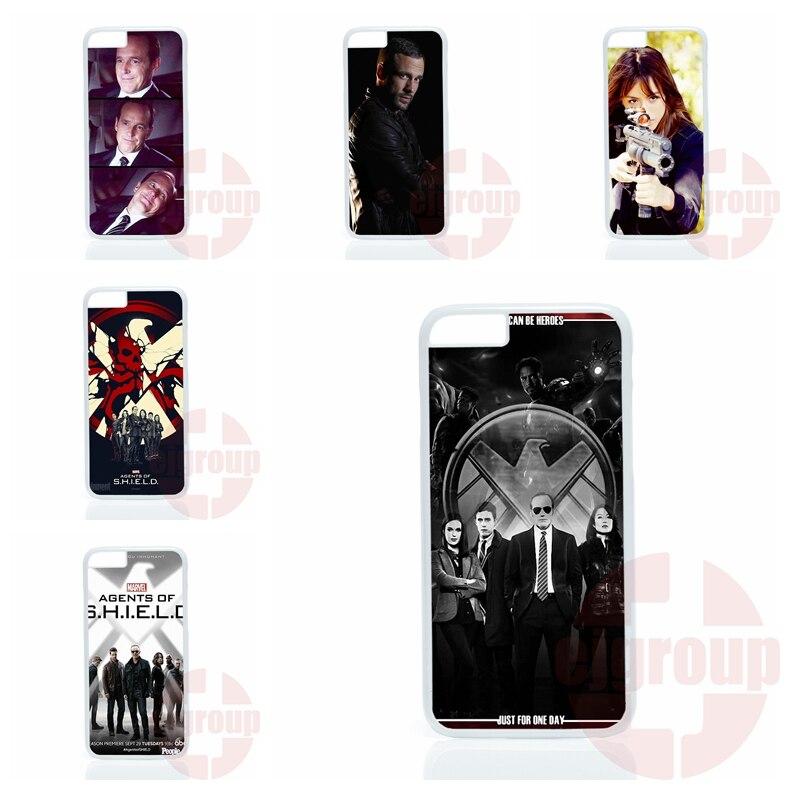 agents of s.h.i.e.l.d shield Case Coque Cover For Xiaomi Mi2 Mi3 Mi4 Mi4i Mi4C Mi5 Redmi 1S 2 2S 3S 2A 3 Note 2 3 Pro