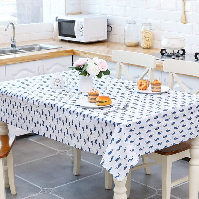 Popular PEVA Waterproof And Oil-proof Table Cloth Disposable Tablecloth Restaurant Table Cloth Table Mat Easy To Clean image