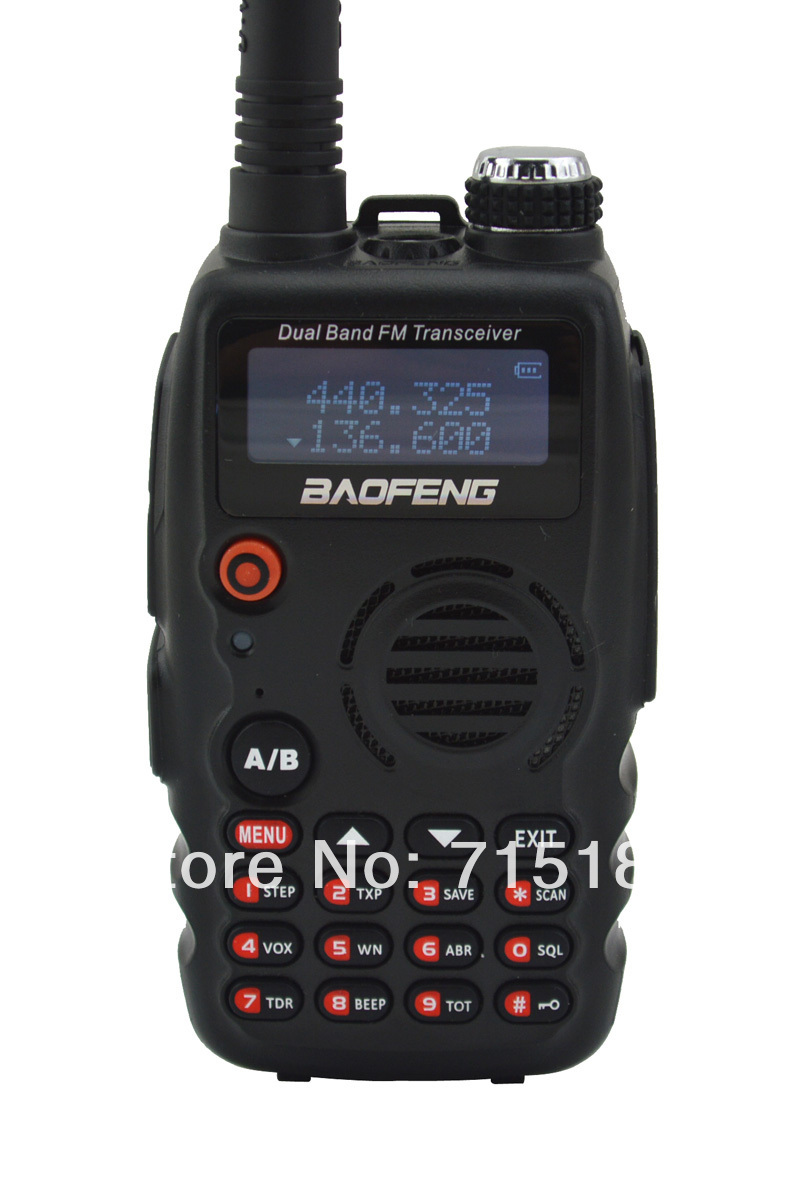 2pcs/lot Baofeng A52 VHF+UHF Dual Band 5W 128CH FM VOX Portable Two-way Radio Baofeng BF A52 136-174MHz + 400-520MHz Transceiver