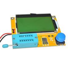 LCR-T4 Mega328 Digital Transistor Tester Diode Triode Capacitance ESR Meter MOS/PNP/NPN LCR 12864 LCD screen ESR-T4 Resistors цены
