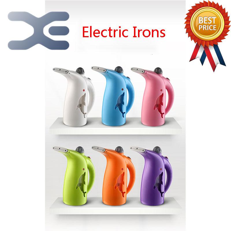 ФОТО 5Per Lot Free Shipping Handheld Garment Steamer Mini Steam Iron Steam Brush 280ML Large Capacity