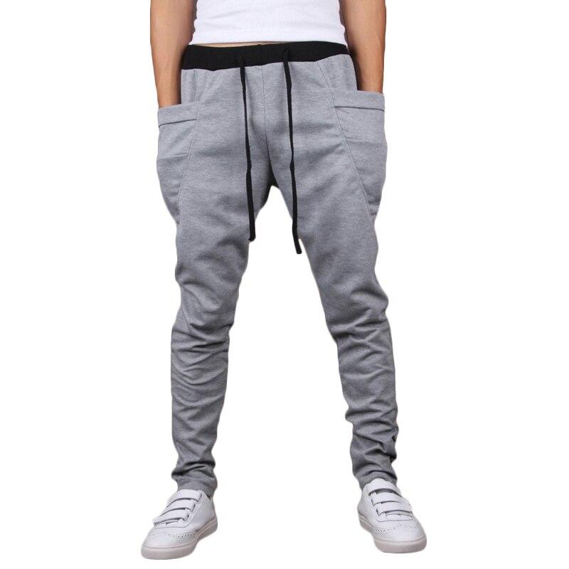 58763dd59 Brand New Fashion Men Joggers Casual Harem Sweatpants Pants Trousers  Sarouel Mens Tracksuit Bottoms Track Joggers