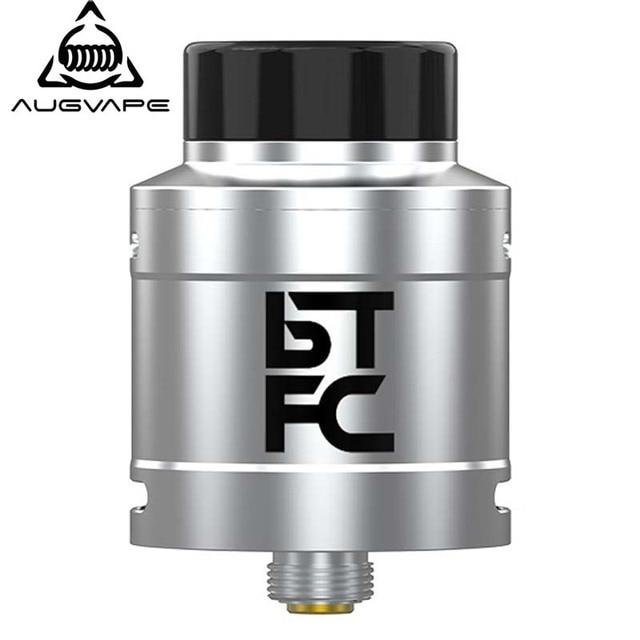 Augvape BTFC RDA, бак атомайзера 25 мм диаметр 33 Высота большой поток воздуха аромат облако чеканка электронная сигарета Vape танк