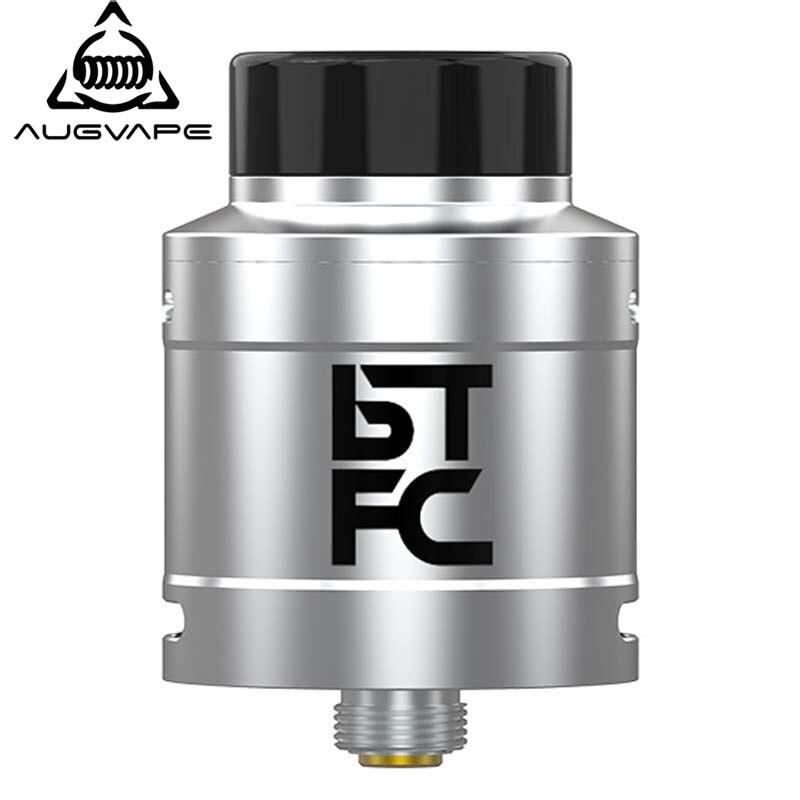 Augvape BTFC RDA Atomiseur Réservoir 25mm Diamètre 33mm Hauteur Grand Flux D'air Saveur Nuage Courir Électronique Cigarette Vaporisateur Réservoir