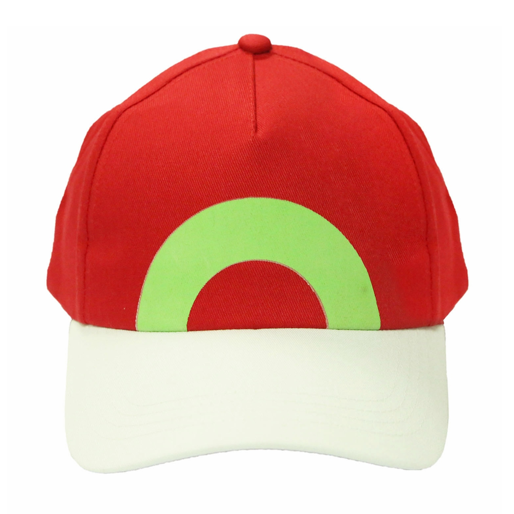 New Hot Pokemon Hat Ash Ketchum Hat Adjustable Baseball Cap New Version Cosplay Costume Accessories Christmas Gift For Unisex