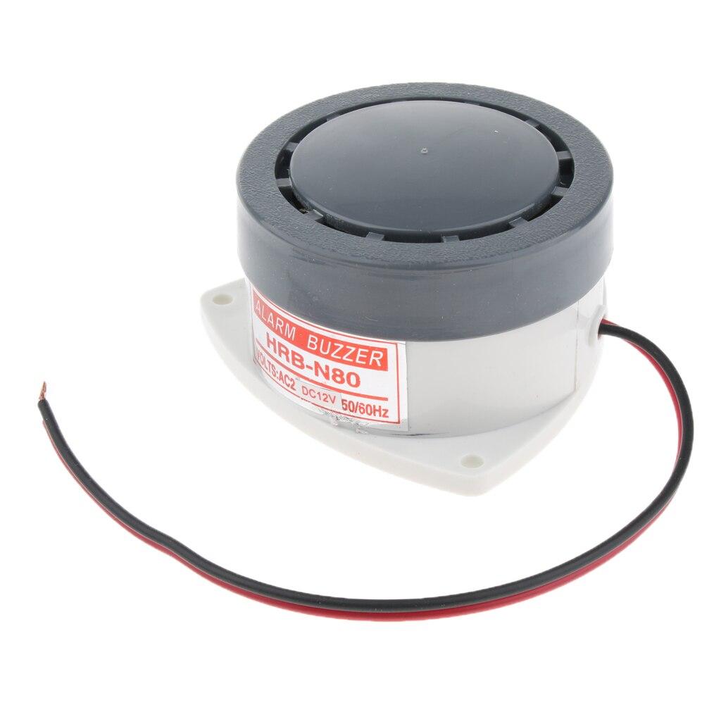12V Industrial 95dB Loud Security Sound Alarm Buzzer Siren Horn Speaker