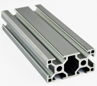 3060 Aluminum Profile Extrusion 30 Series Aluminum Tube Length 1 Meter