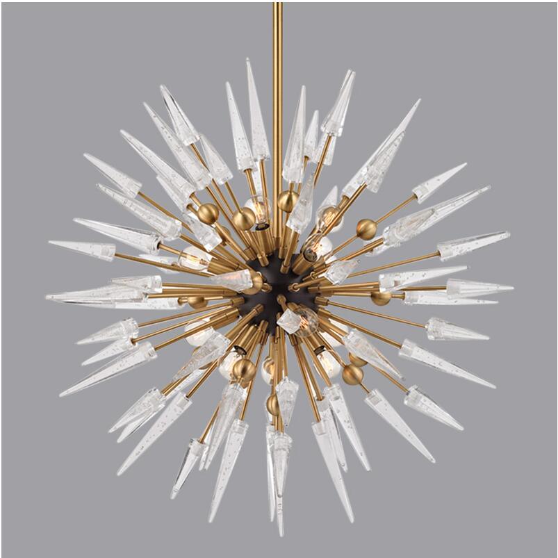 Новый светодиодный светильник люстра, дизайнерская вилла, гостиная, столовая, спальня, украшение лампы, роскошная художественная лампа