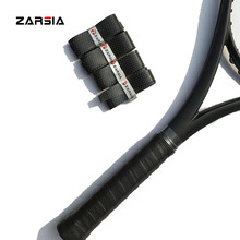 (50pcs/lot)ZARSIA Super thin tennis overgrip ,tacky Feel badminton racket over grips,black point tennis grips