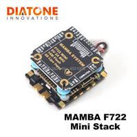 Diatone mamba f722 mini controlador de vôo fc stack 2 6 s dshot 300/600/1200 fpv racing drone esc para rc acessórios quadcopter|Peças e Acessórios| |  -