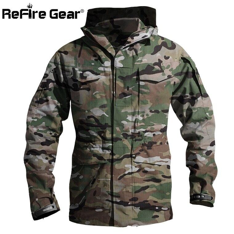 M65 британская армейская одежда США Повседневная тактическая ветровка для мужчин зима осень водонепроницаемый летный пилот пальто толстовка Военная Полевая куртка - Цвет: CP