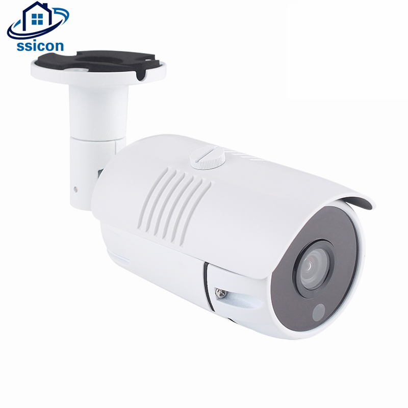SSICON 5MP H.265 Bullet IP Camera Outdoor 3.6mm Lens P2P View Infrared Night Vision Security Video Surveillance CCTV CameraSSICON 5MP H.265 Bullet IP Camera Outdoor 3.6mm Lens P2P View Infrared Night Vision Security Video Surveillance CCTV Camera