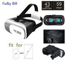 3D VRกล่องอัพเกรดIIชุดหูฟังแว่นตาความจริงเสมือนโทรศัพท์มือถือ3Dภาพยนตร์สำหรับทุกโทรศัพท์สมาร์ท+ 3Dสมาร์ทระยะไกลจอยสติ๊ก
