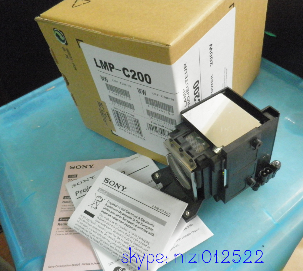 OEM for SONY VPL-CW125 CX100 CX120 CX125 CX150 lmp-C200 High quality Projector lamp with housing brand new replacement lamp with housing lmp c200 for sony vpl cw125 vpl cx100 vpl cx120 projector