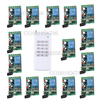 DC24V 15CH RF Wireless Remote Control Switch System 15Receiver 1Transmitter Momentary Toggle Latched Adjust Learning 3