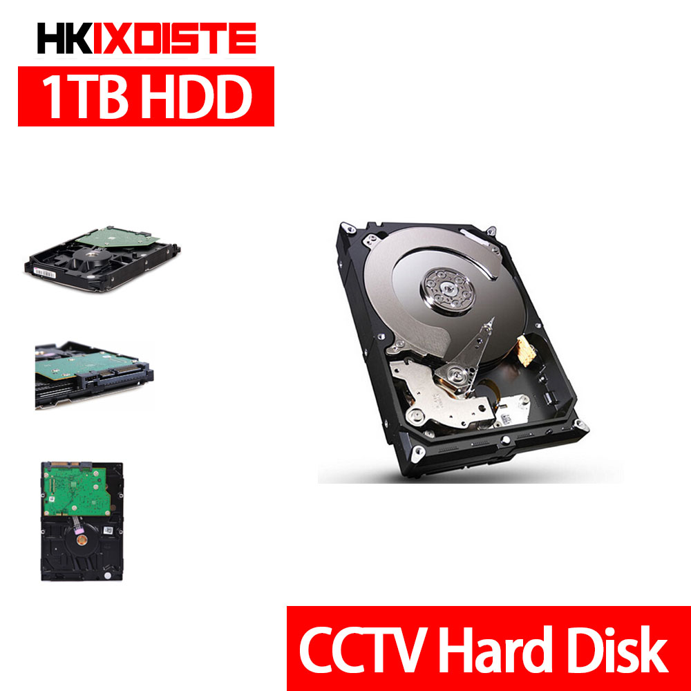 New 1000GB 3.5 inch SATA Hard Drive Hard Disk 64MB 7200rpm for Standalone DVR recorder cctv system+Free shipping 1tb 2tb 3tb 4tb optional 3 5 inch sata interface hard disk drive for cctv surveillance system security dvr nvr kit video record