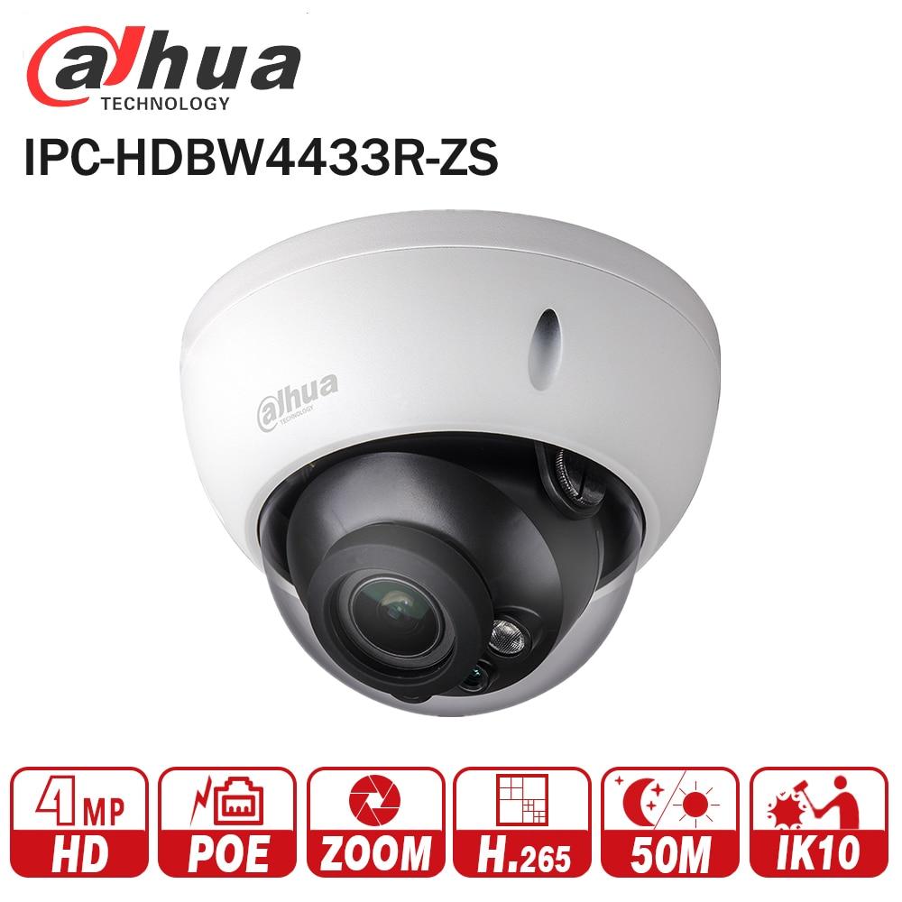 Dahua 4mp IP Kamera IPC-HDBW4433R-ZS Ersetzen IPC-HDBW4431R-ZS IP CCTV Kamera mit 50 mt IR Palette Vari-Fokus Netzwerk Kamera