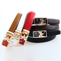 Fashion Style 100 Cow Skin Genuine Leather Belts For Women Adult Leather Formal Belt Female Strap