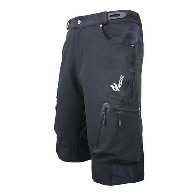 Arsuxeo Summer Men 39 s Cycling Shorts Breathable Loose Outdoor Sports MTB Riding Road Mountain Bike Short Trousers in Cycling Shorts from Sports amp Entertainment