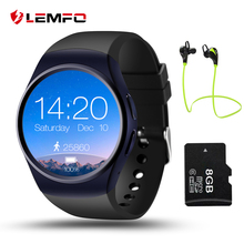 Lemfo lf18 sim smart watch teléfono reloj inteligente bluetooth conectarse y dispositivos portátiles de uso independiente
