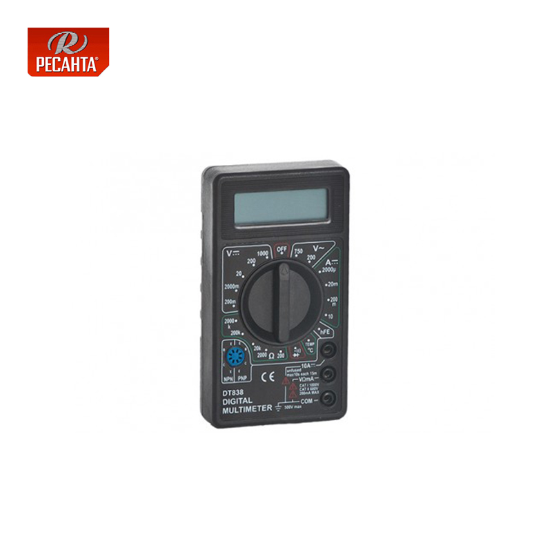 Resanta DT 838 Multimeter Measure Current Voltage and Resistance Household  for Electrical Digital Display Multi functional