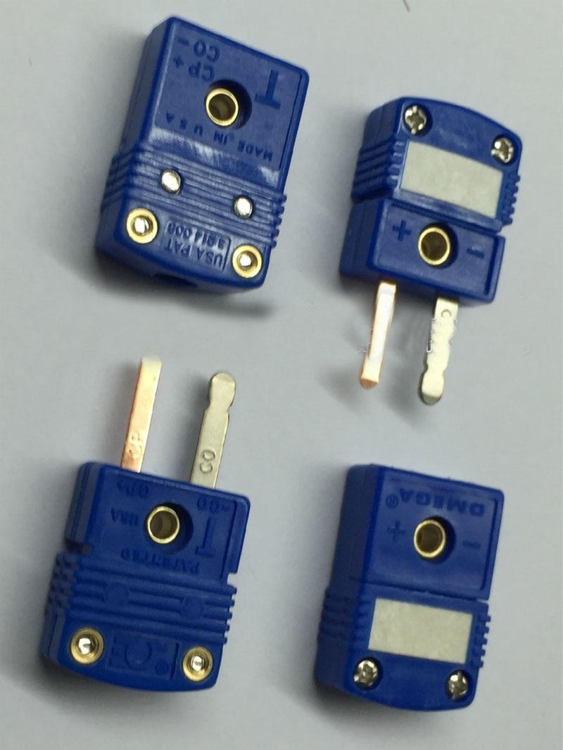 Free shipping original 50PC male T type thermocouple Plug sensor SMPW T M