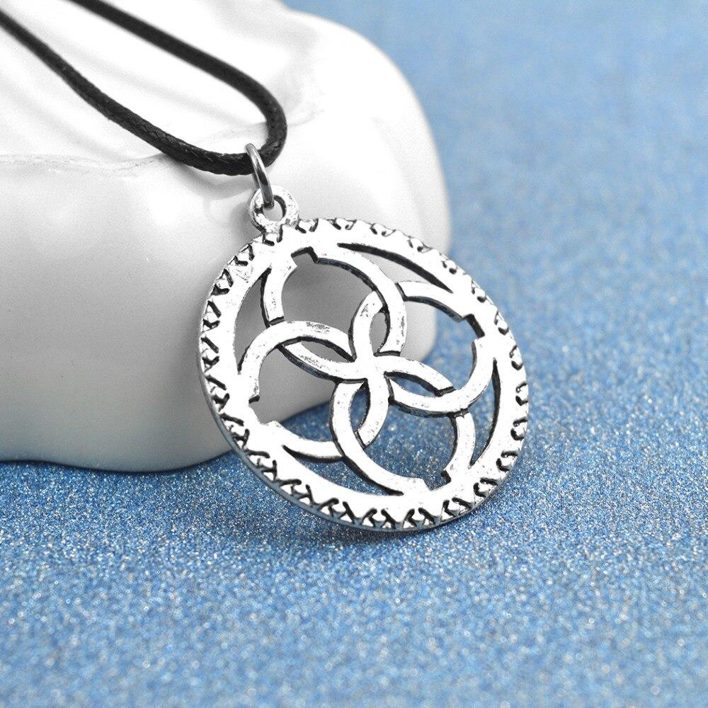 Fleur Bleue of the Sun pendant