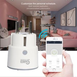 Image 3 - NEO Coolcam Smart Plug WiFi Socket 3680W 16A Power Energy Monitoring Timer Schakelaar EU Outlet Voice Control door Alexa google IFTTT