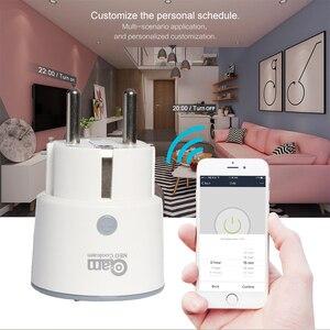 Image 3 - NEO Coolcam enchufe inteligente enchufe WiFi, 3680W, 16A, Control de energía, temporizador, enchufe de la UE, Control por voz, Alexa, Google, IFTTT