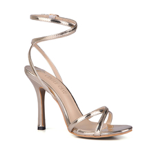 Sexy Patent Bridal Party Ankle Strap High Heel Stiletto Women Sandal Abendschuhe Knochelriemchen Sandales Femmes Soiree YJ158-a2