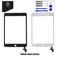 Original For OEM iPad Mini 3 A1599 and A1600 Display Touch Screen Digitizer Glass Assembly IC Chip Adhesive Tape