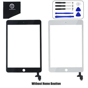Original For OEM iPad Mini 3 A1599 and A1600 Display Touch Screen Digitizer Glass OEM Assembly IC Chip Adhesive Tape
