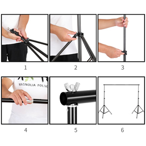 Image 4 - 2M x 3M Background Support System Softbox Umbrella Kit for Photo Studio Product,Portrait and Video Shoot Photography Lights