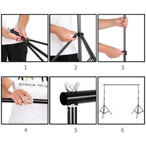 Image 4 - Kit de parapluie Softbox de système de soutien de fond de 2M x 3M pour le produit de Studio de Photo, les lumières de photographie de Portrait et de séance vidéo