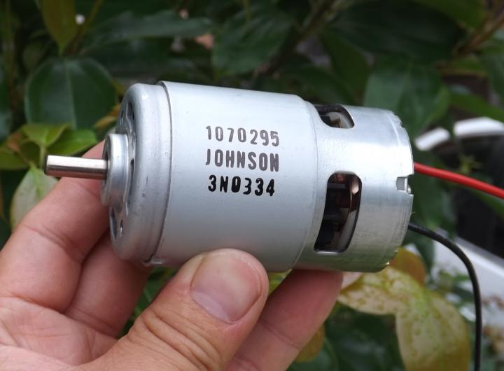 775 dc motor high speed high torque dc 12v 35000rpm hair for High torque micro motor