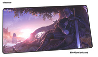 witcher mousepad gamer Fashion 800x400x4mm gaming mouse pad HD pattern notebook pc accessories laptop padmouse ergonomic mat
