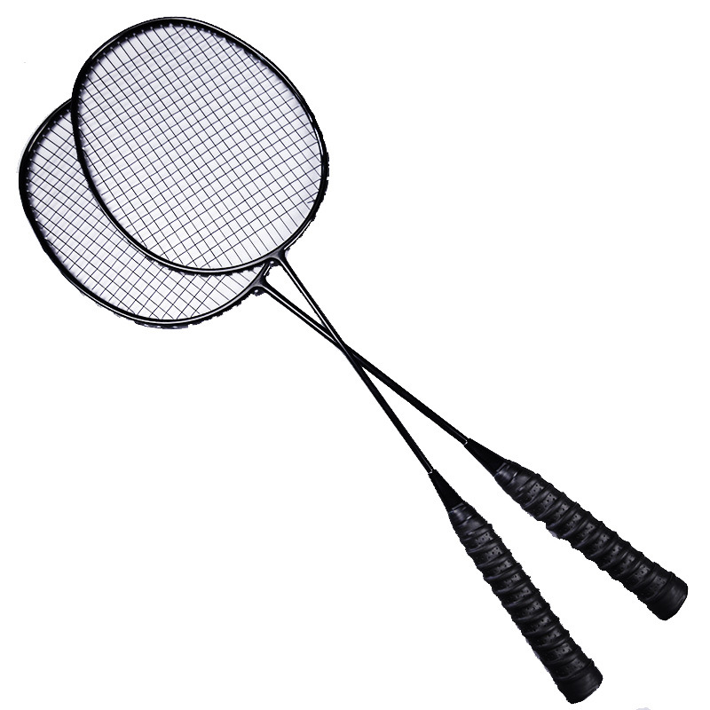 Original SWEATING Badminton Racket 4U Carbon Fiber Lightweight Amateur Junior Badminton Racket Two Racquet Loaded With Free Gift