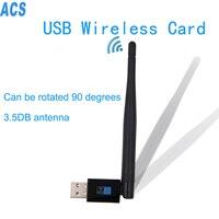 2016 New 802 11n Wireless Usb2 0 300Mbps 3 5DB Wireless Adapter Lan Usb Support Windows
