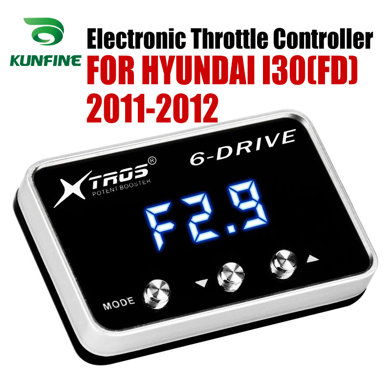 Car Electronic Throttle Controller Racing Accelerator Potent Booster For HYUNDAI I30(FD) 2011 2012 Tuning Parts Accessory|Car Electronic Throttle Controller| |  - title=
