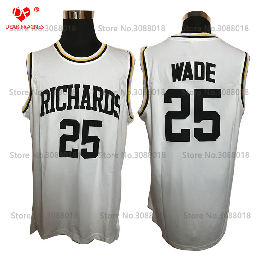 a1e6f060953 ... canada buy wade jersey throwback white jersey and get free shipping on  aliexpress e803c 834f7