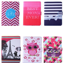 New Print Pu leather-based for 12.9″Apple iPad Professional pill PC protecting belt bucklle folding folio stand holder card slot cowl case