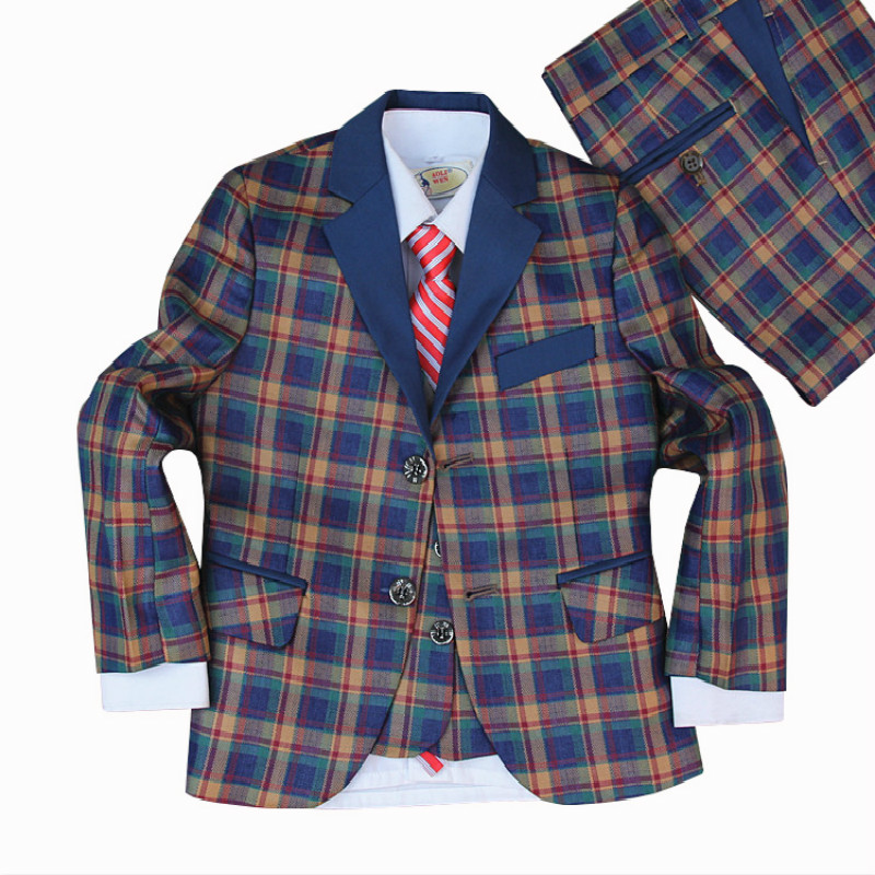Performance clothing boys suit jacket suit small suit male Tong Gezi children dress children dress 5pcs / Set artdeco lash brush