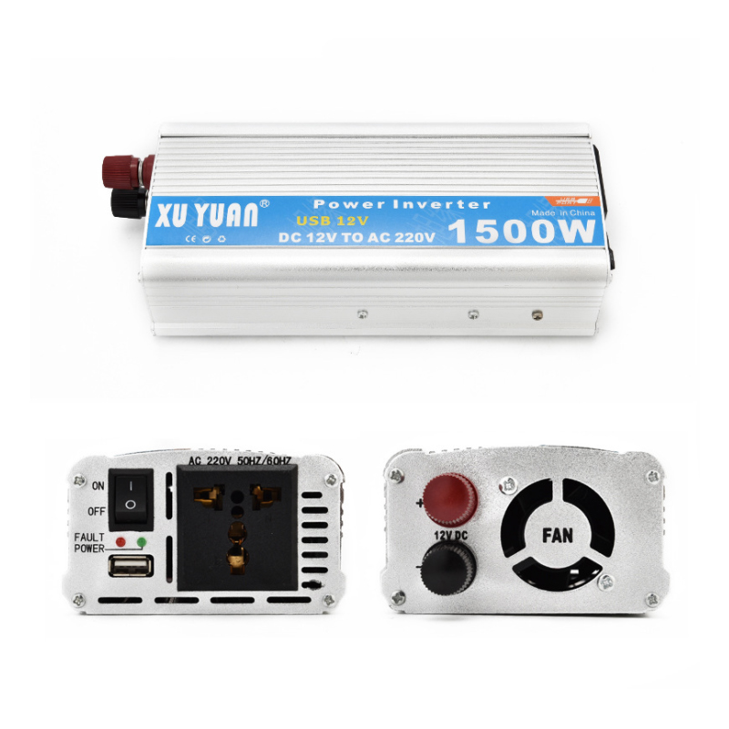 1500W inverter, 12V/24V to 220V, 12V/24V to 110V, power converter