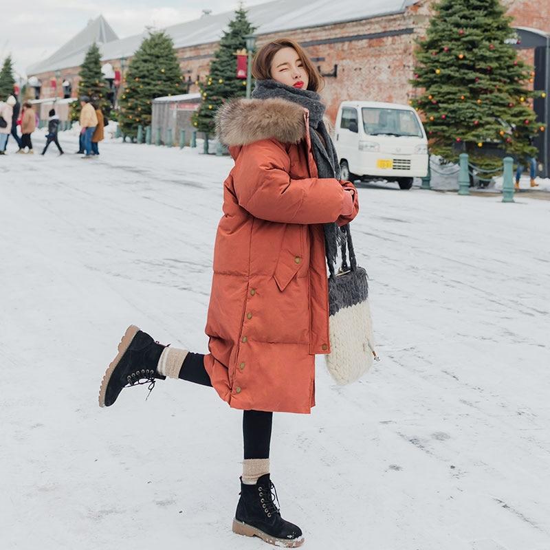 Col B43 Vers Coton Se Lâche Mode Casual 2018 Femme Rembourré Parkas Vestes Femmes jiao Épaissir Le Manteaux Fourrure Faux Tang Nouvelle De Longue Bas D'hiver Chaud Kaki xaRwwFBcqY