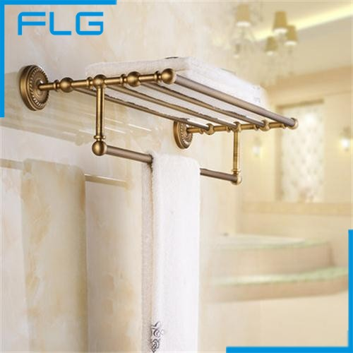 European Antique Brass Bathroom Bath Towel Rack Shelf With Towel Bar 3611301 free shipping originalnew 9 inch lcd screen cable number kr090ia6t 1030301223