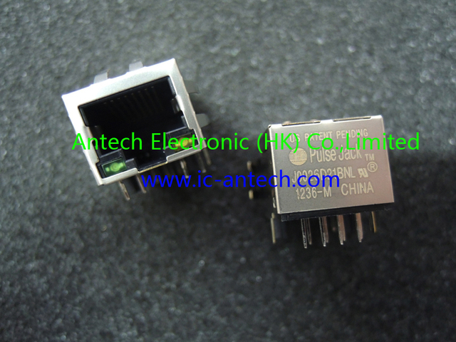 J0026D21BNL J0026D21  CONN MAGJACK 1PORT 100 BASE-TX  1x1 Tab-DOWN RJ45