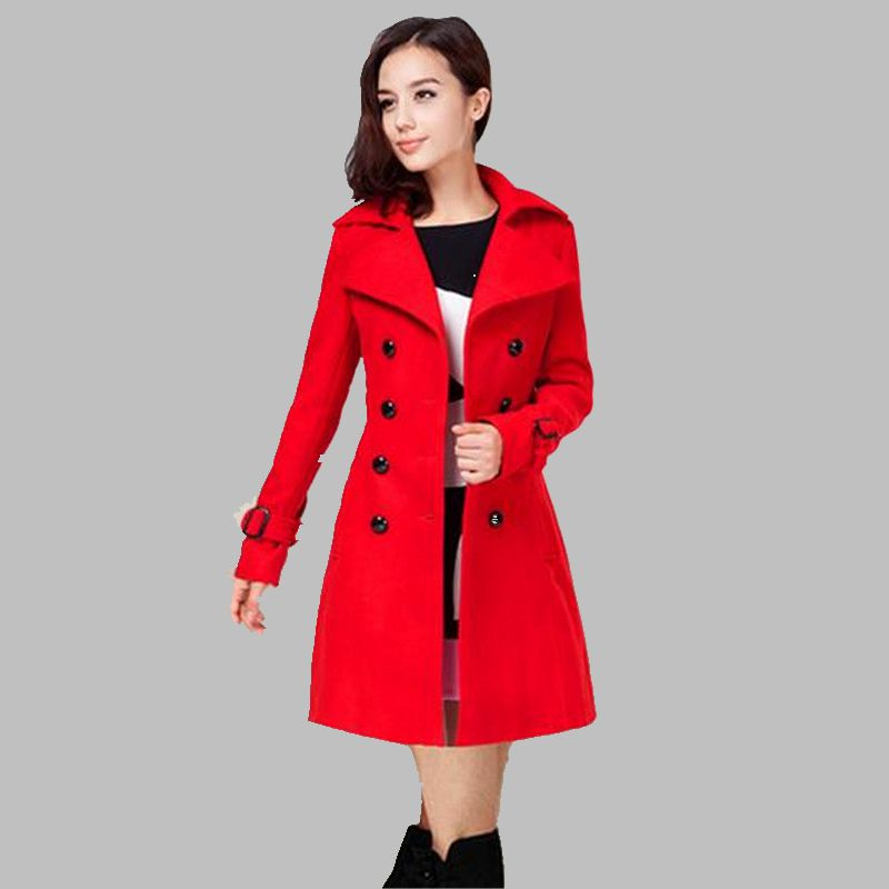 Online Get Cheap Red Winter Coat -Aliexpress.com | Alibaba Group
